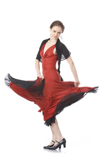 Danse flamenca à la MJC des Fleurs