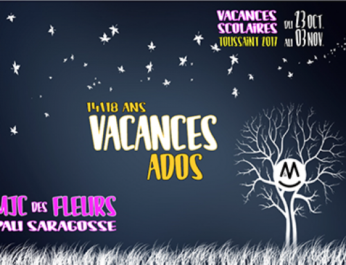 Programme Ados 14-18 Vacances Toussaint 2017