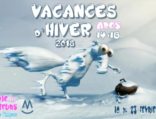 Programme Secteur Ados Vacances Février 2018
