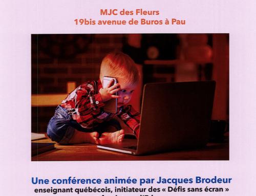 Conférence «Moins d'écrans, un jeu d'enfants ?»