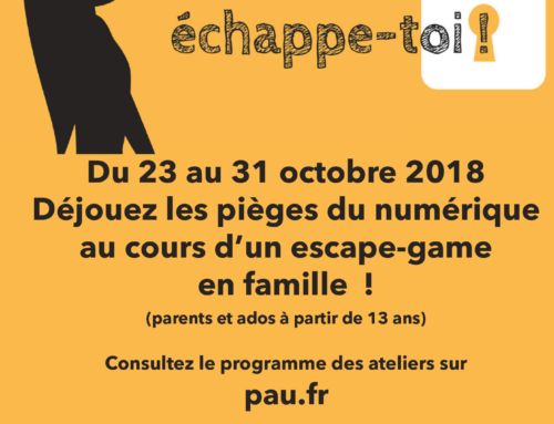 Escape game parent/enfant – vacances de Toussaint