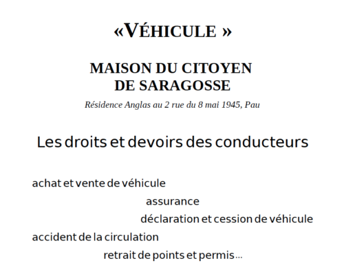 Les droits et devoirs des conducteurs