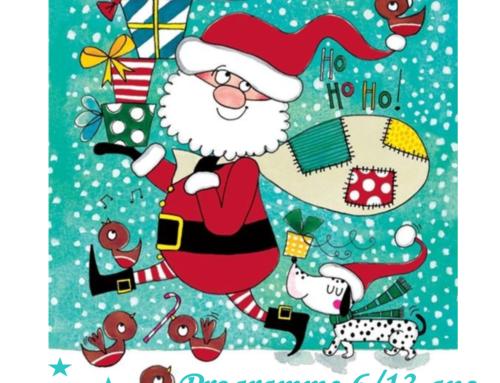Programme ALSH 6-13 ans Noël 2018
