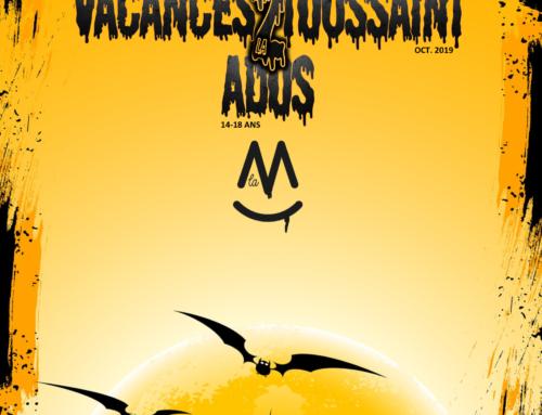 Programme Secteur Ados Toussaint 2019