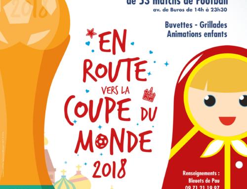 En route vers la Coupe du Monde 2018
