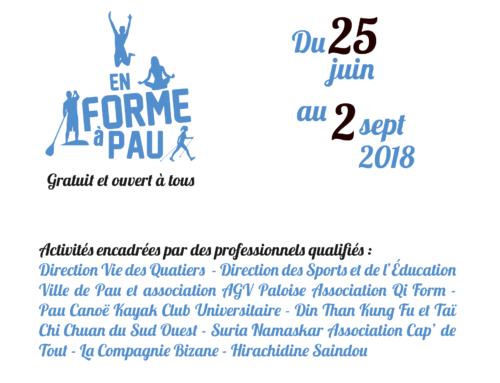 En forme à Pau 2018