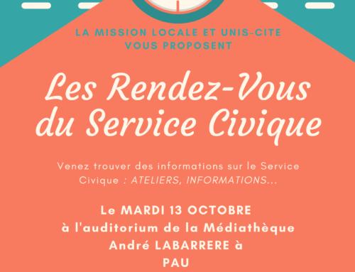 Semaine Nationale des Missions Locales – Les rendez-vous du Service Civique