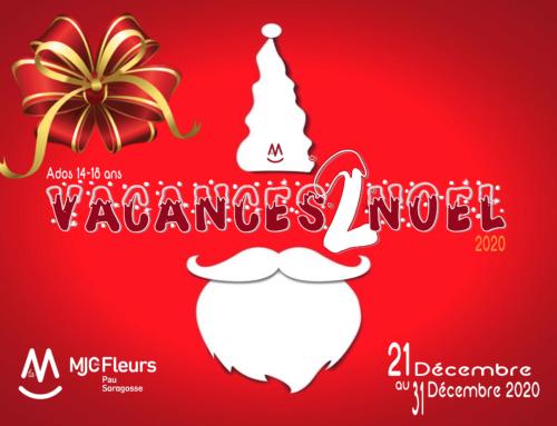 Programme Secteur Ados Vacances Noël 2020