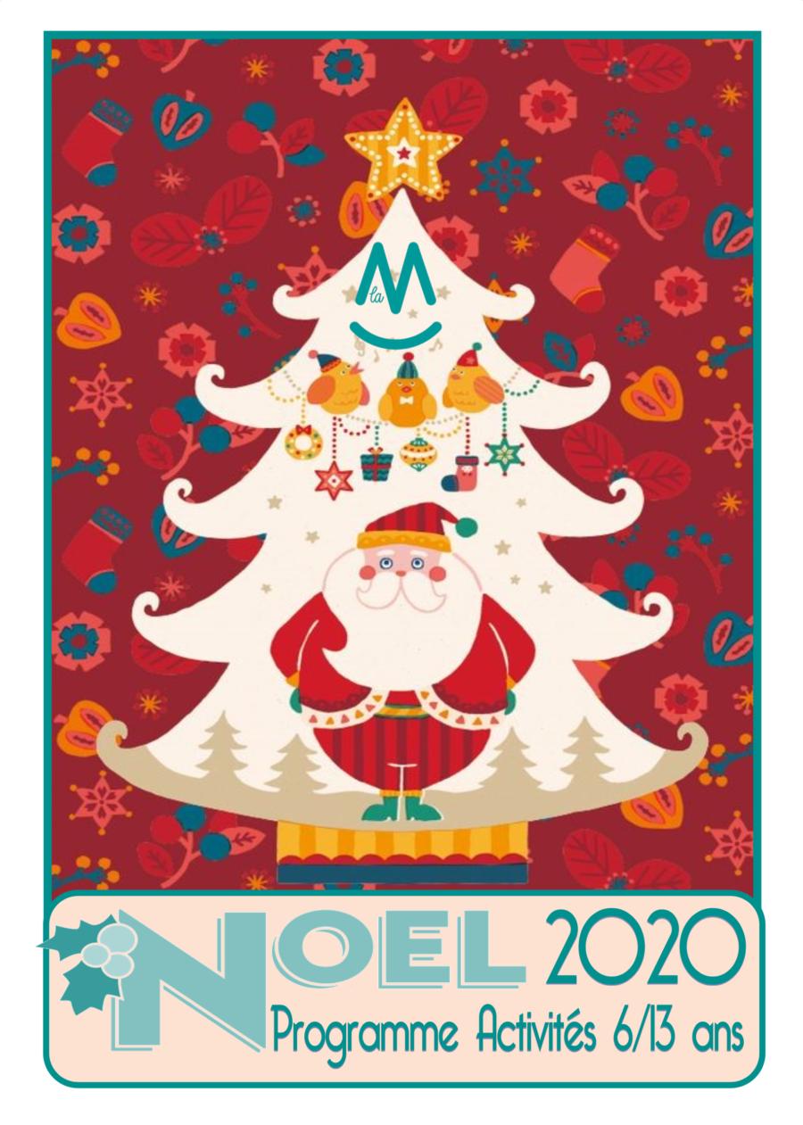 Programme 6-13 ans Noël 2020